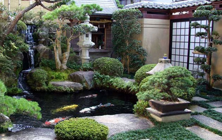Backyard Japanese Garden (18)