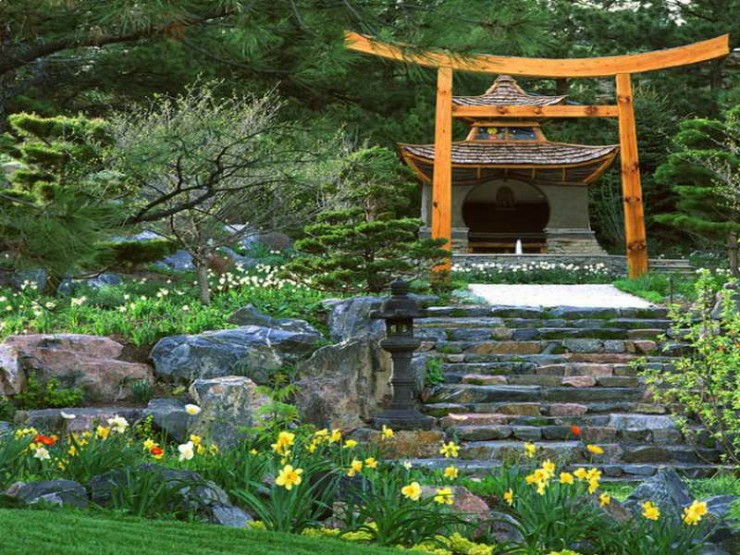 Japanese Garden Design Ideas (1)