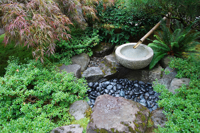 Japanese Garden Water Basins (18)