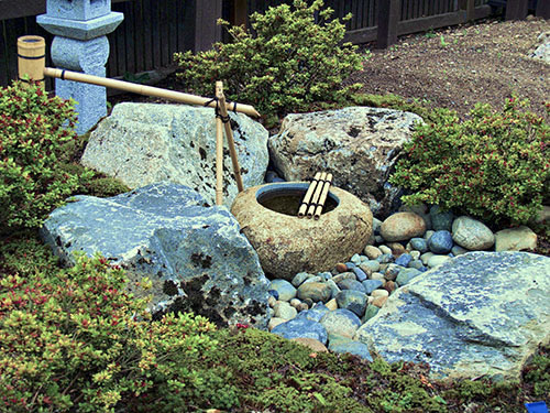 Japanese Garden Water Basins (3)