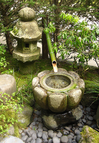 Japanese Garden Water Basins (6)