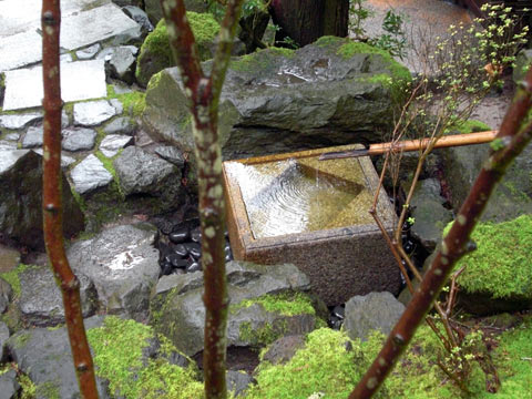 Japanese Garden Water Basins (8)