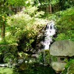 Japanese Garden Waterfall (2)