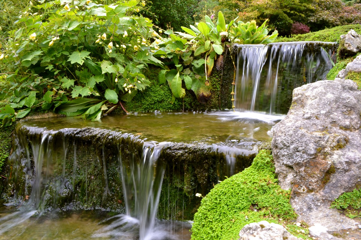 Japanese Garden Waterfall (33)