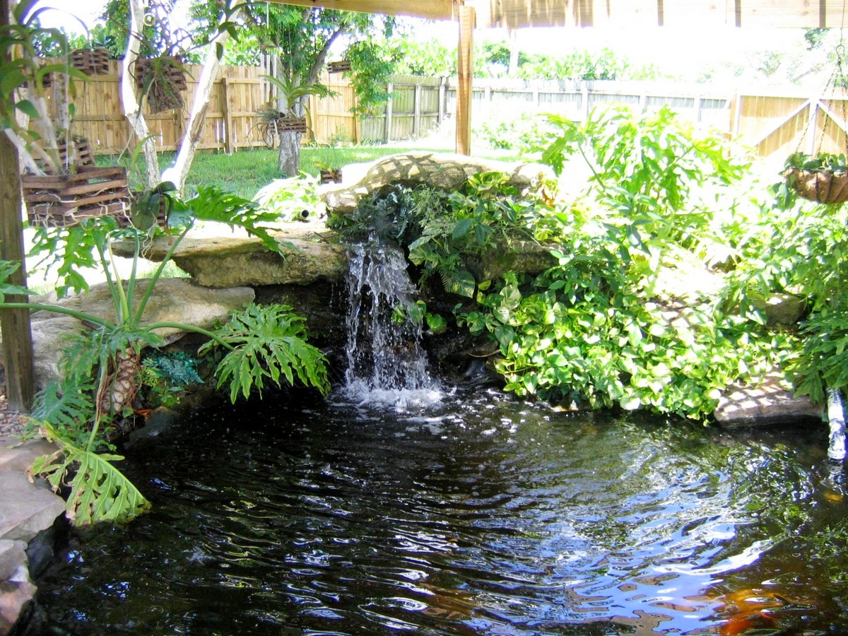 Japanese Garden Waterfall (41)