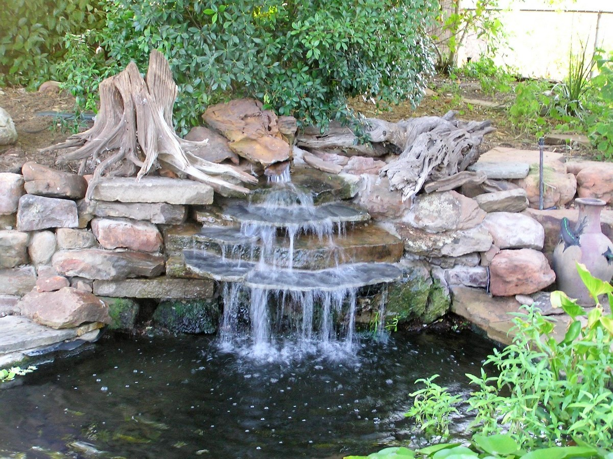 Japanese Garden Waterfall (46)