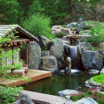 Japanese Garden Waterfall (57)