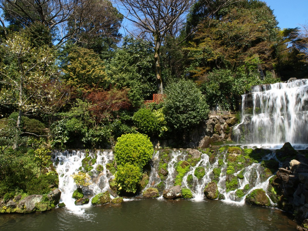 Japanese Garden Waterfall (68)
