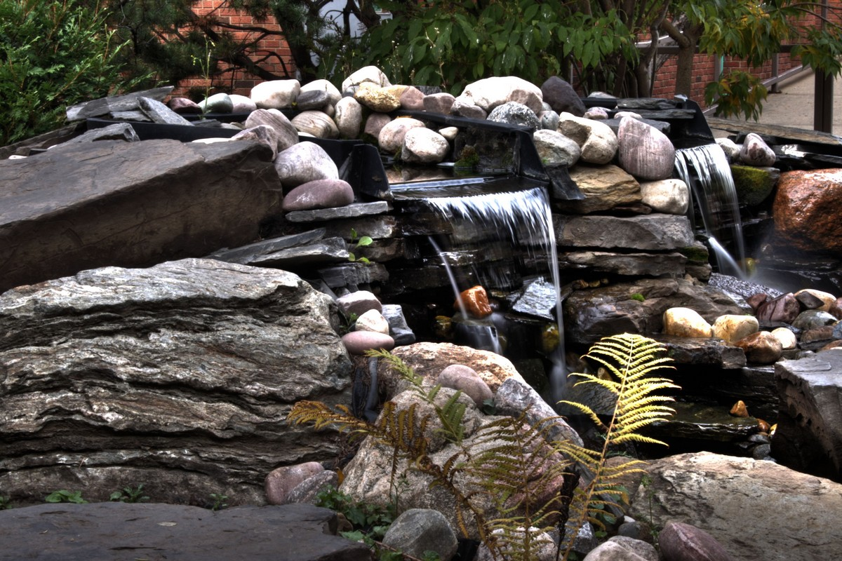 Japanese Garden Waterfall (81)
