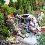 Japanese Garden Waterfall (82)