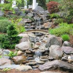 Japanese Garden Waterfall (83)