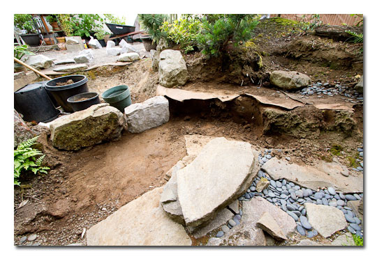 The Basic Steps in Building Japanese Garden (8)