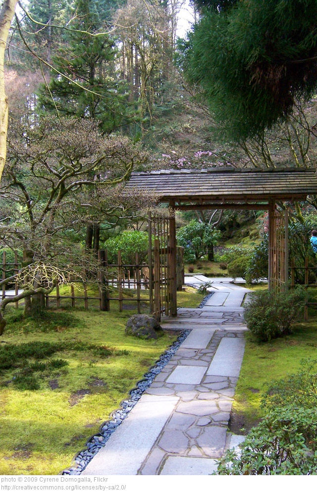 Various Japanese Garden Structures (10)