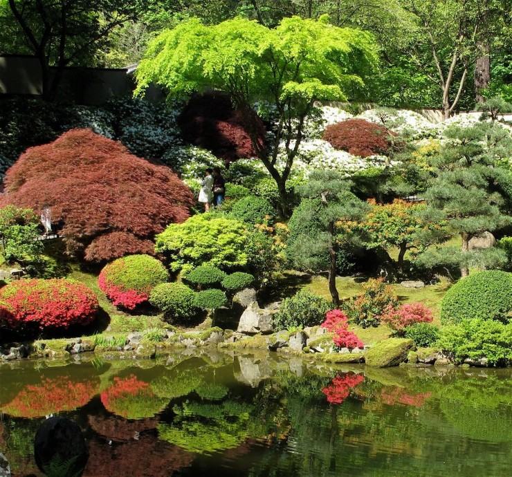 Various Japanese Garden Structures (12)
