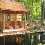 Various Japanese Garden Structures (20)