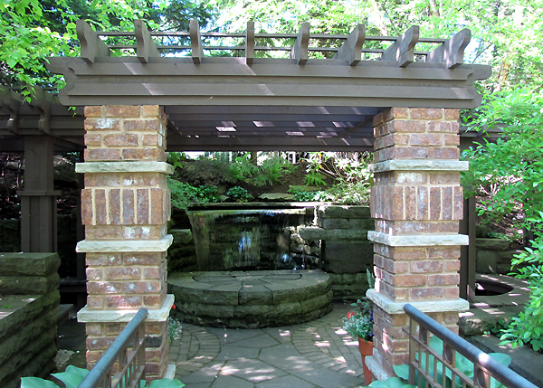 Various Japanese Garden Structures (22)