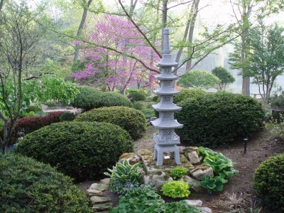 Various Japanese Garden Structures (24)