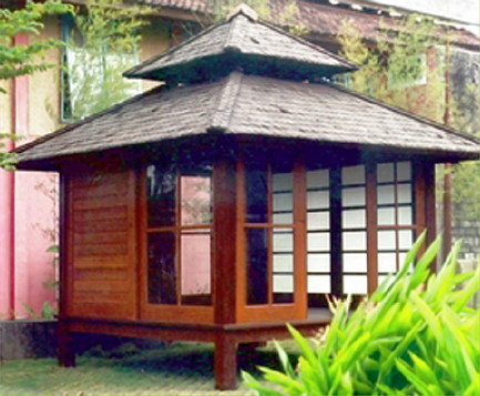 Various Japanese Garden Structures (27)