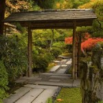 Various Japanese Garden Structures (8)