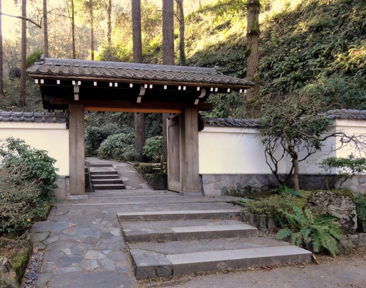 Various Japanese Garden Structures (9)